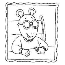 דפי צביעה ארתור