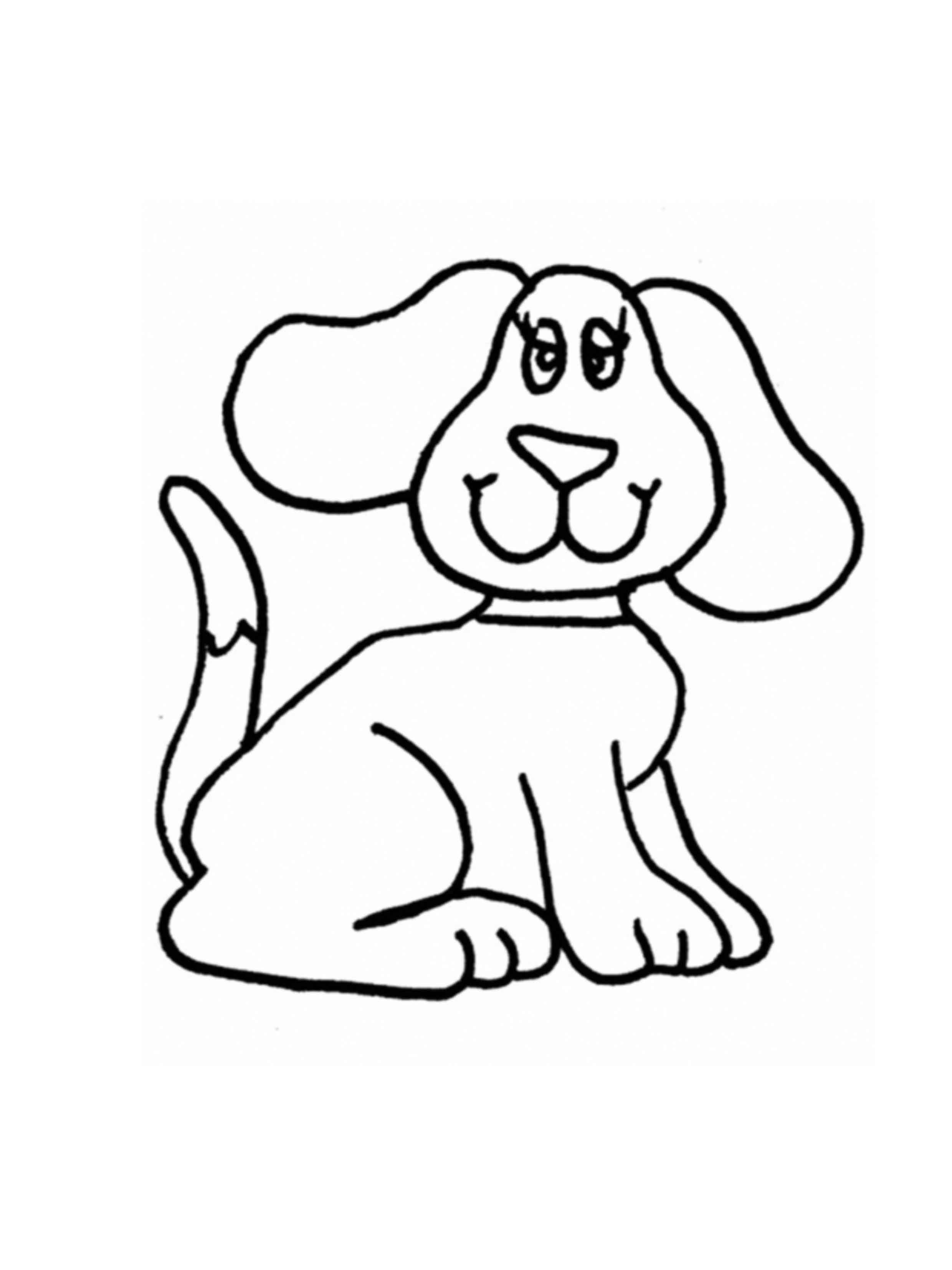 דפי צביעה של כלבים