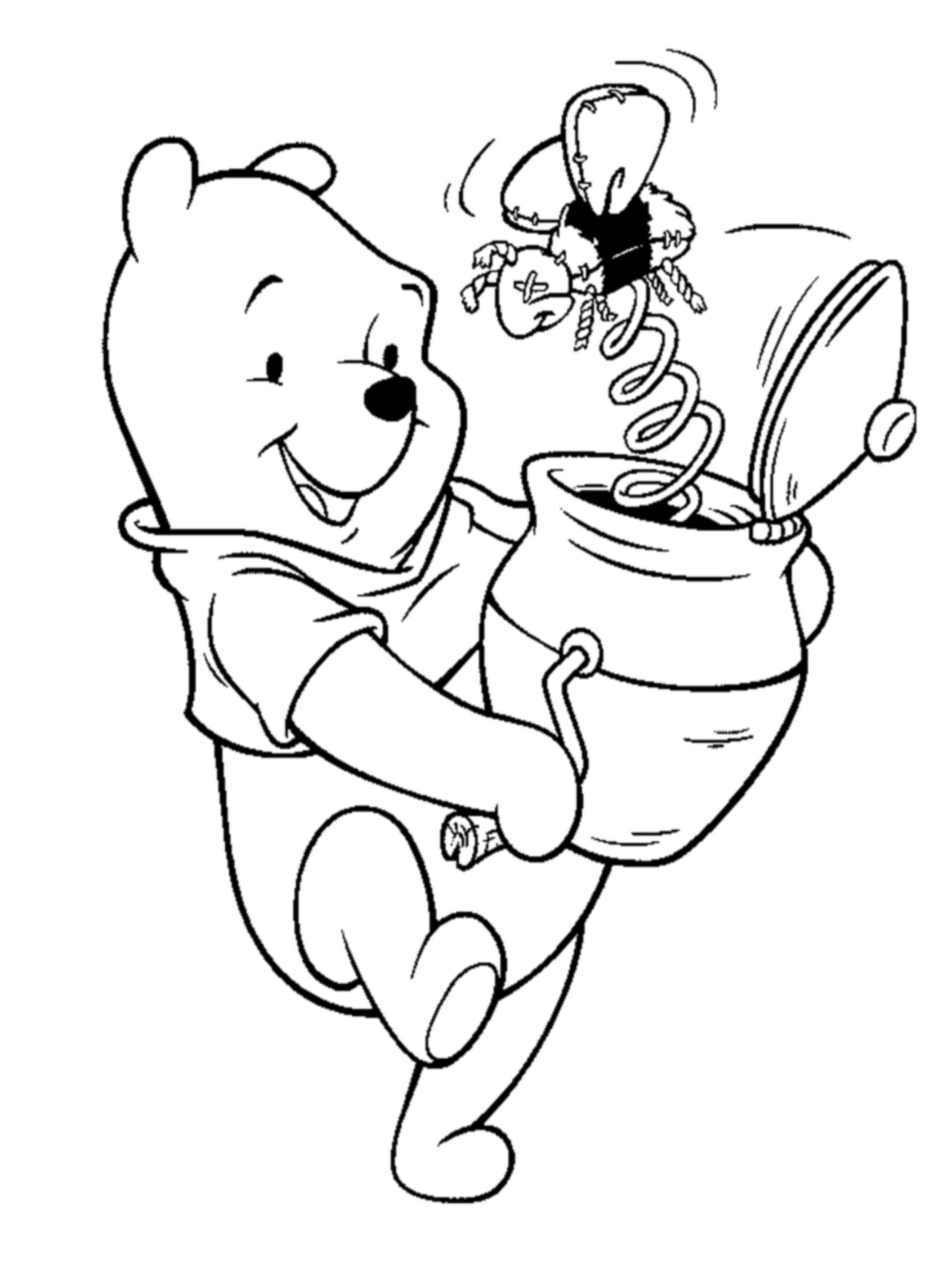 פו הדוב וצינצנת דבש