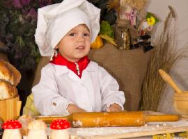 ילדים והמטבח - ילדים אופים ומבשלים