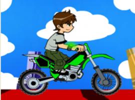 משחקי בן 10 מסביב לעולם עם אופנוע