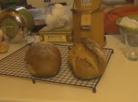 מתכון מעולה ללחם קמח מלא הכנה ביתית קל מאוד להכנה