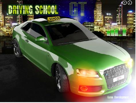 משחק מכוניות בית ספר לנהגיה