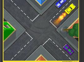 משחק מכוניות אדיר - כאוס מכוניות