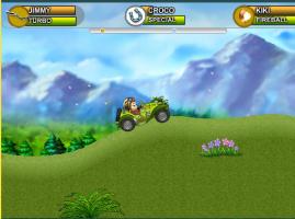 מרוצי קופים משחק מכוניות מצחיק