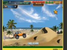 משחק מכוניות - מרוצי הסלעים