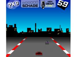משחק חזק! מרוץ מכוניות