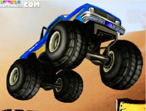 משחקי מכוניות - מונסטר טראק