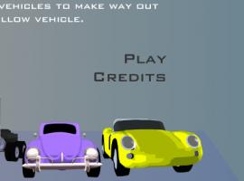 משחק מכונית צהובה החוצה
