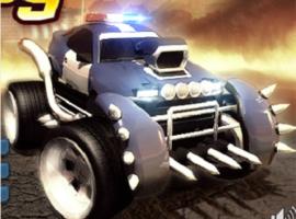 משחקים מכוניות שוטרי הרשע