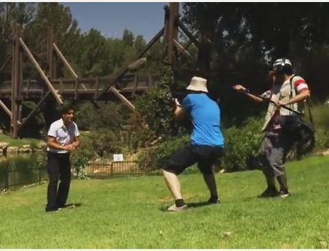 ילדי גן החיות בפרק תחרותי