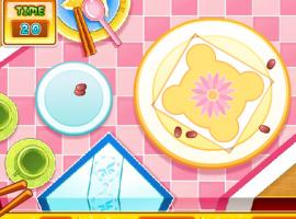 מאסטר מקלות, משחק בישול מגניב