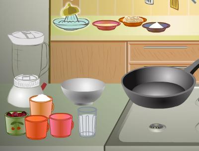 פנקייק עם ריבה משחקי בישול