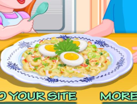 משחקי בישול סלט פסטה