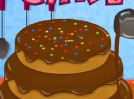 משחק בישול עוגת יום הולדת