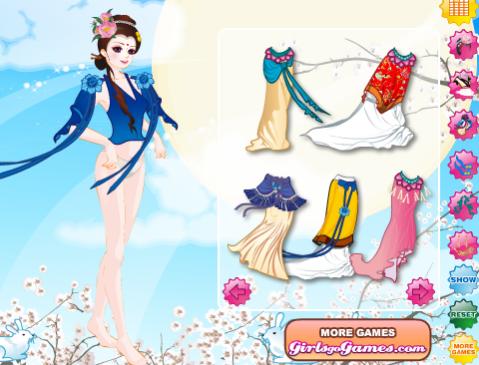 משחק הלבשת נסיכה סינית