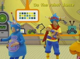 """""""רוק הרובוט"""" שיר ילדים באנגלית"""
