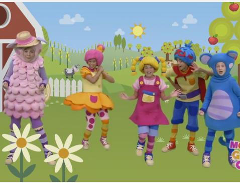 שיר ילדים באנגלית - שיר לכת חמוד Rig A Jig Jig