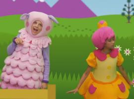 הכיבשה הקטנה בו ביפ שיר ילדים באנגלית