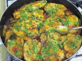מתכון לדגים מבושלים ברוטב אדום, טונה ואמנון מהמטבח של שרהל'ה