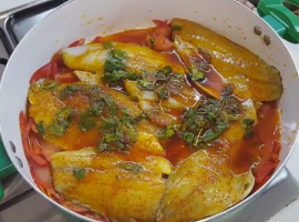 מתכון מעולה לחריימה דגים מרוקאיים