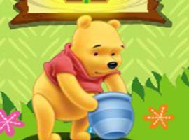 משחק לילדים פו הדוב וצינצנת הדבש