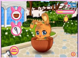 משחק בנות חמוד - הארנב שלי