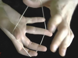 איך עושים קסמים: גומיה דרך היד
