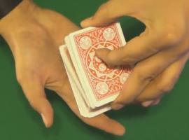 לימוד קסמים בקלפים.  לימוד הקסם הקלף הבא