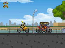 המשחק המגניב - מרץ אופנועים