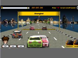 משחק מעולה - מרוץ מכוניות