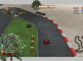המשחק המגניב - מירוץ המכונית האדומה