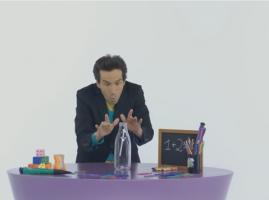 סוד הקסם - קסם של בקבוק ועיפרון