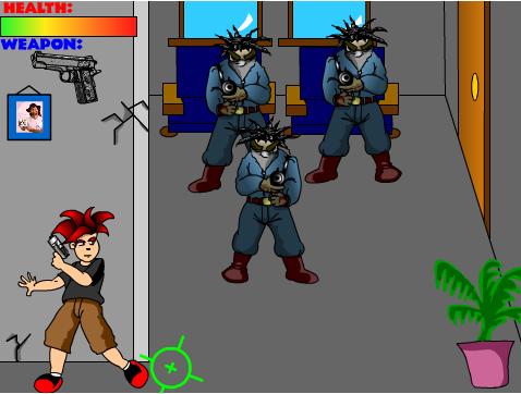 קרב יריות בבניין משרדים