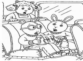 דפי צביעה של ארתור, בסטר וגילי