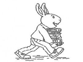 דף צביעה של בסטר מהסדרה של ארתור