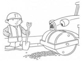 בוב הבנאי לצביעה ולהדפסה