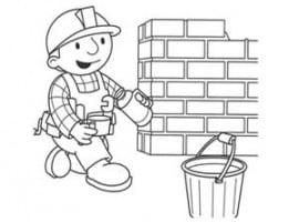 בוב הבנאי בונה חומה