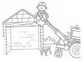 בוב הבנאי בונה בית
