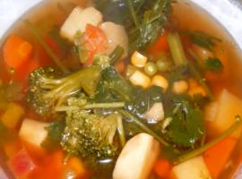 מתכון נהדר למרק ירקות קליל טבעי בריא וטעים