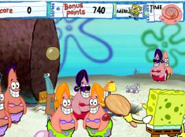 בובספוג משחק מטקות