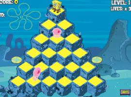 בובספוג בפירמידה