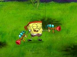 בובספוג נלחם במדוזות