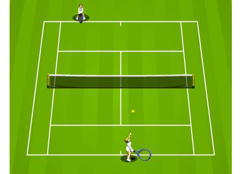 משחק ספורט ממכר- טניס