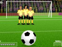 משחק ספורט - בעיטה מסובבת