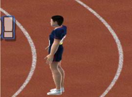 משחק אולימפיאדה קפיצה לגובה